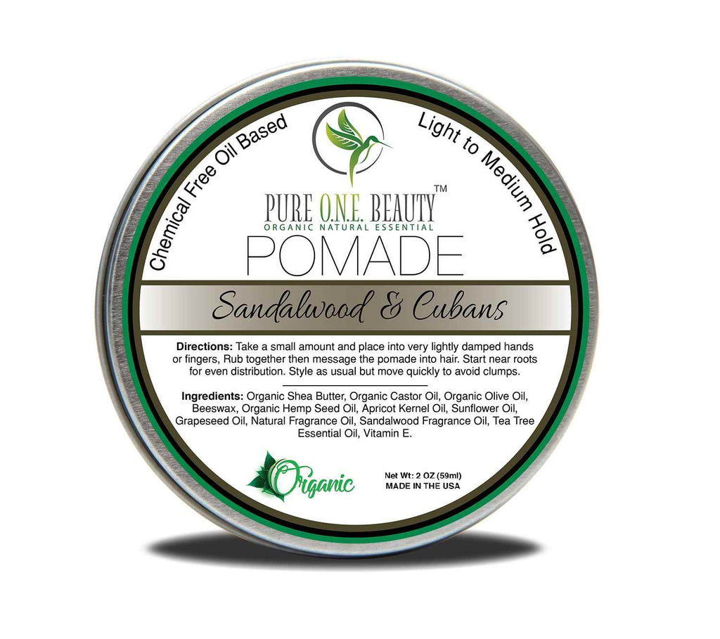 Sandalwood & Cubans Pomade <br> Pick Your Hold - Pure ONE Beauty