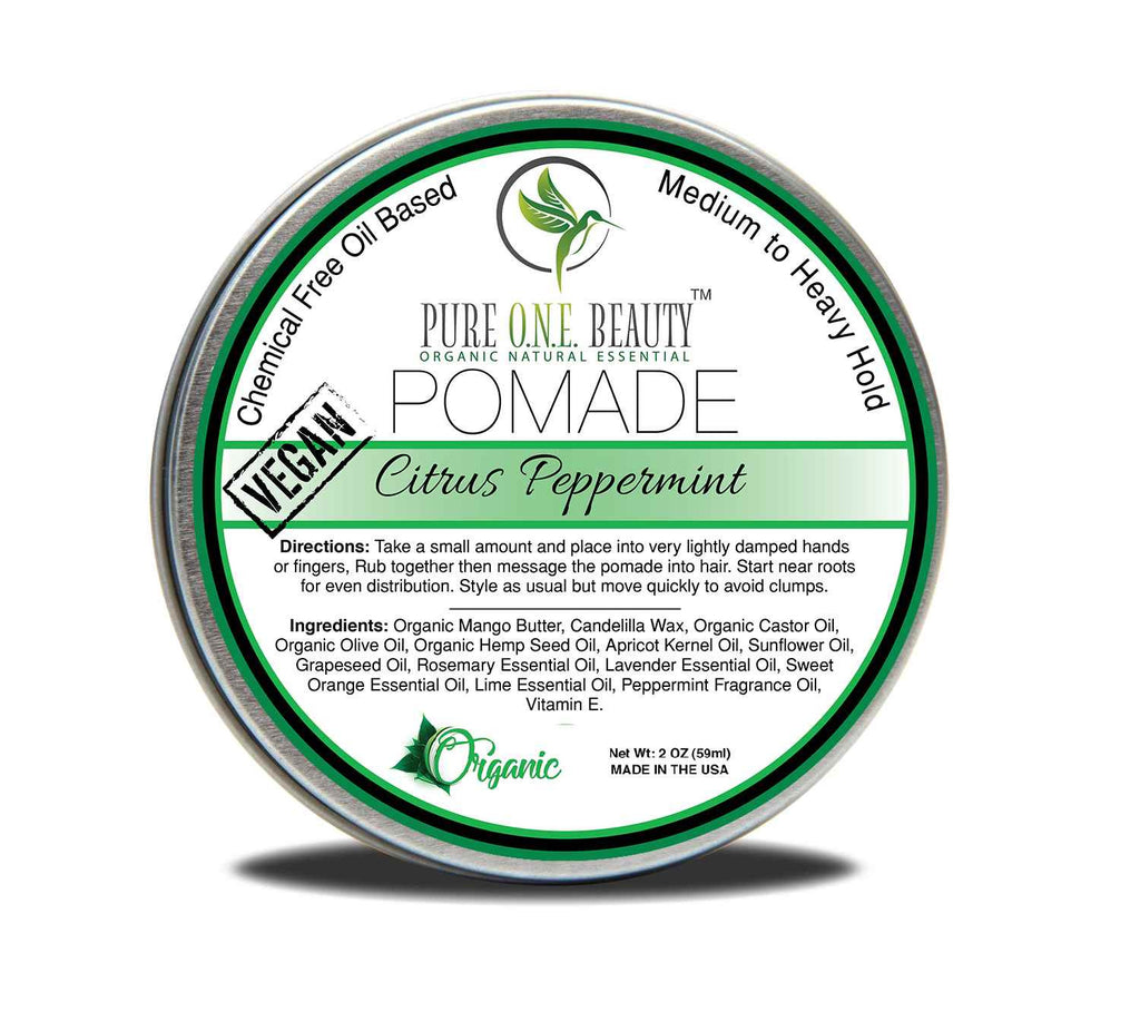 Citrus Peppermint Vegan Pomade <br> Pick Your Hold - Pure ONE Beauty