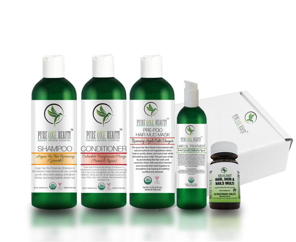 Silver Hair Growth Kit - Pure ONE Beauty