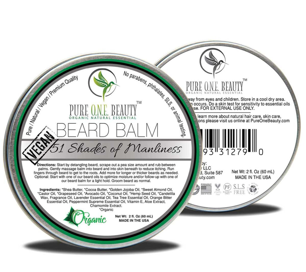 51 Shades of Manliness <br> Beard Balm - Pure ONE Beauty