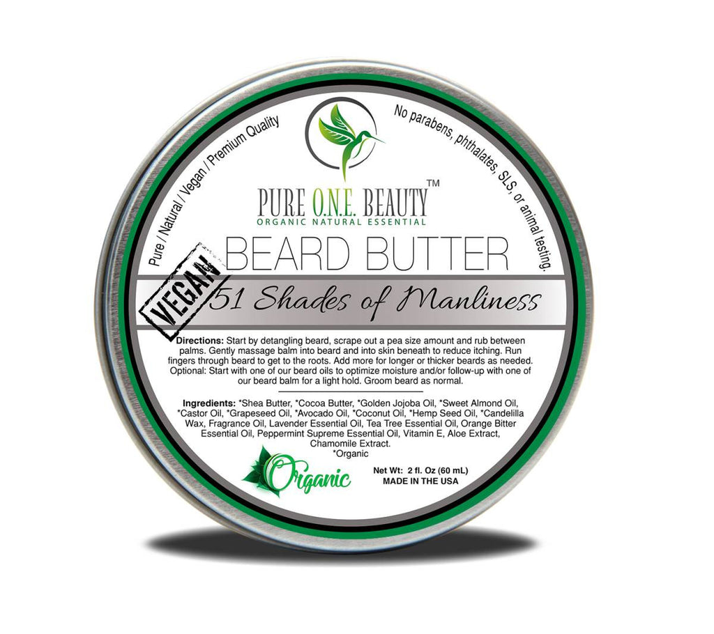 51 Shades of Manliness <br> Beard Butter - Pure ONE Beauty