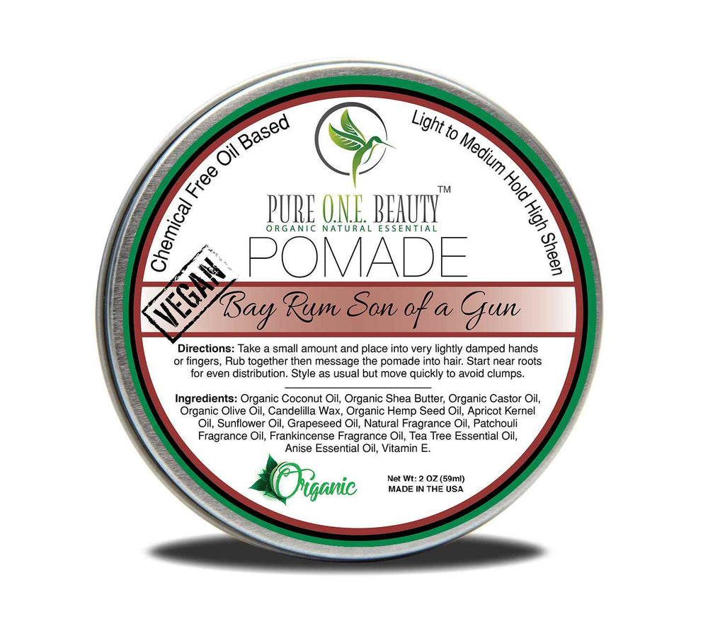 Bay Rum Son of a Gun Pomade <br> Pick Your Hold - Pure ONE Beauty