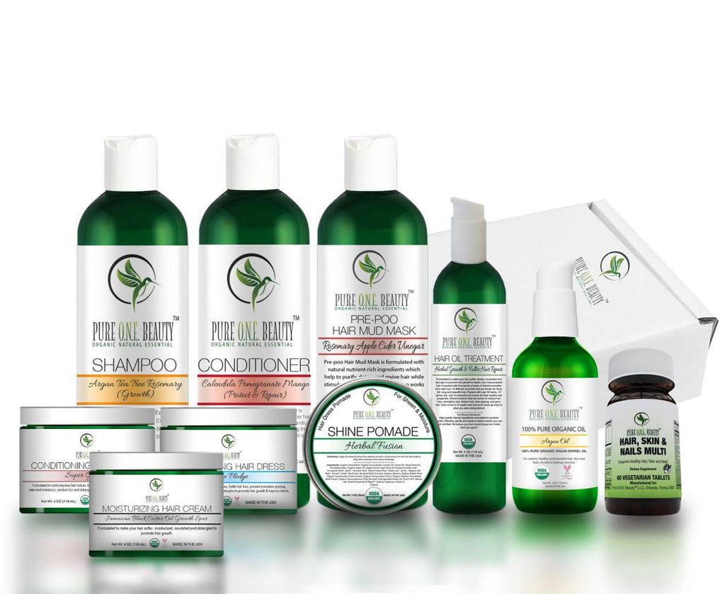 Platinum<br>Hair Growth Kit - Pure ONE Beauty