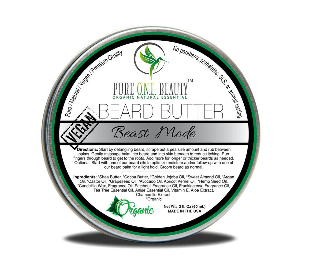 Beast Mode <br> Beard Butter - Pure ONE Beauty