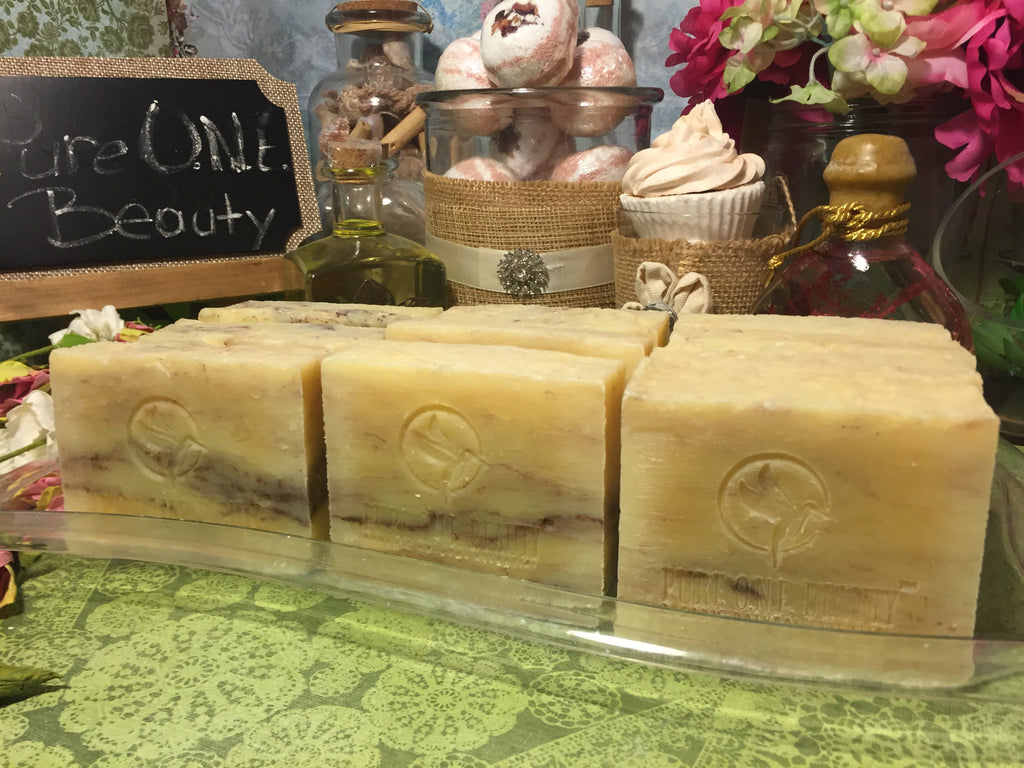 Bergamot Citrus<br>Organic Soap - Pure ONE Beauty