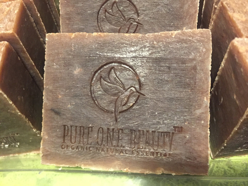 Chocolate Patchouli Cinnamon Organic Soap - Pure ONE Beauty