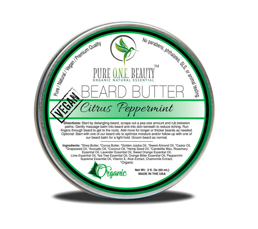 Citrus Peppermint <br> Beard Butter - Pure ONE Beauty