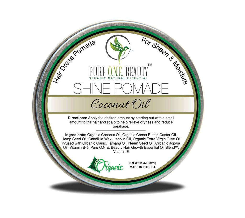 Coconut Oil<br>Hair Oil Pomade - Pure ONE Beauty