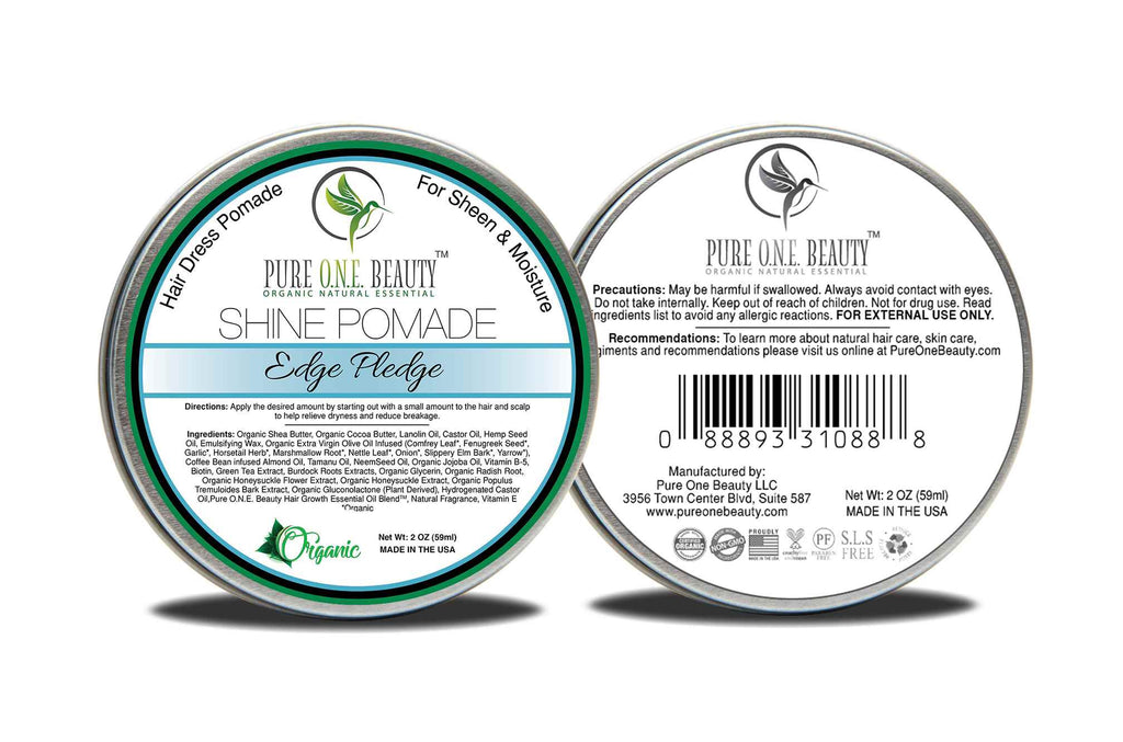 Edge Pledge<br>Hair Oil Pomade - Pure ONE Beauty