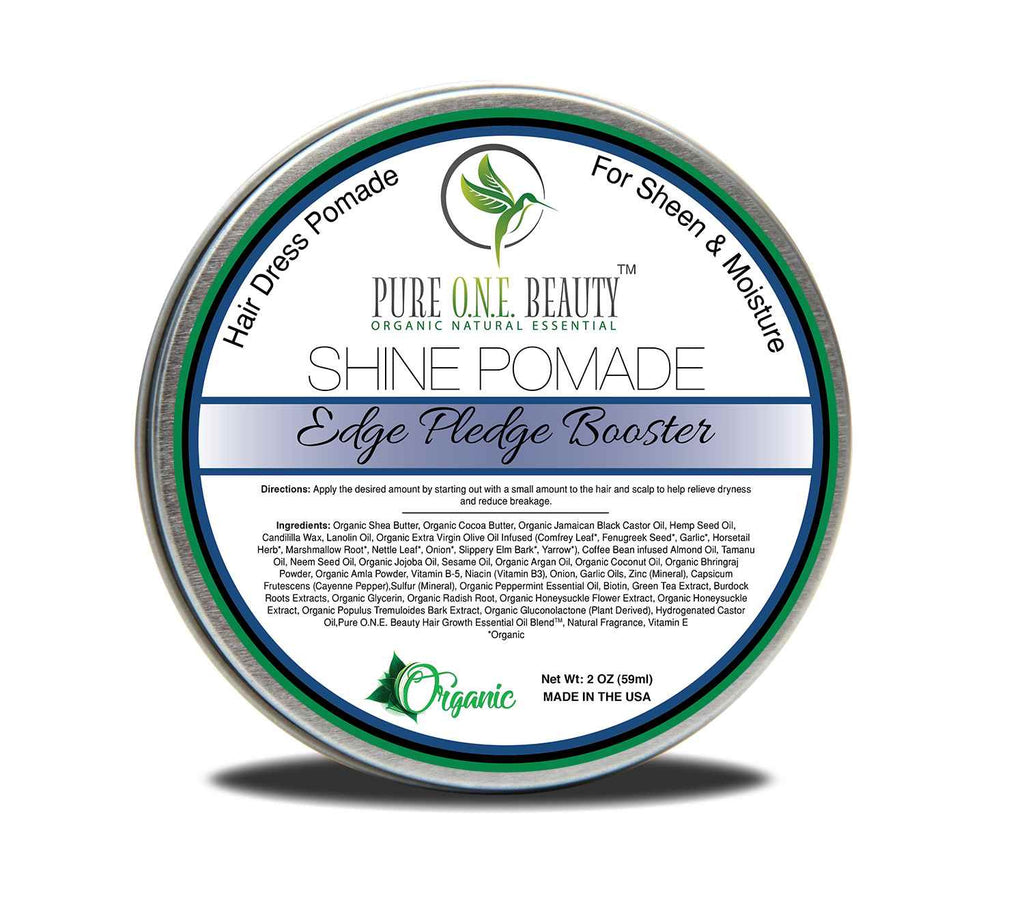 Edge Pledge Booster<br>Hair Oil Pomade - Pure ONE Beauty