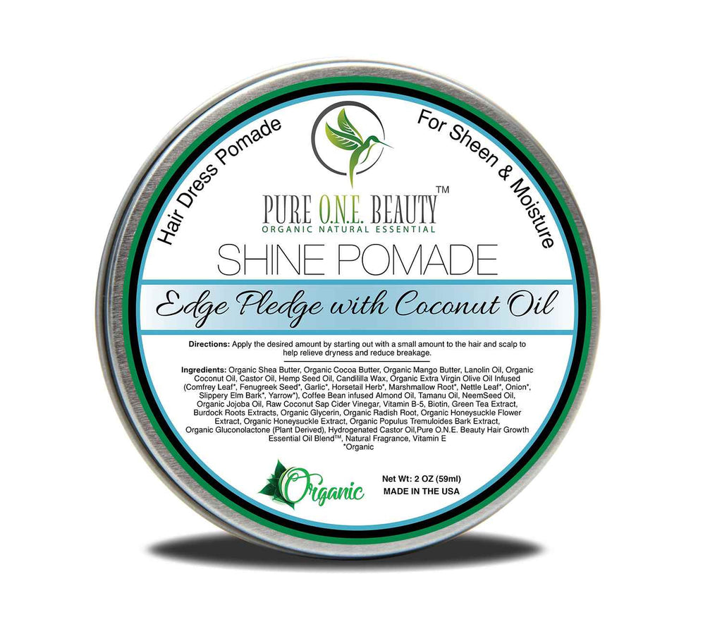 Coconut Oil Edge Pledge<br>Hair Oil Pomade - Pure ONE Beauty
