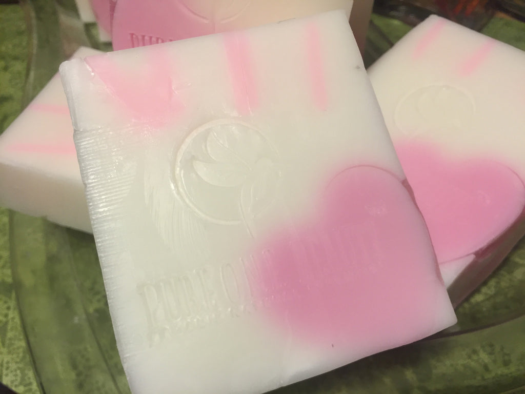 Goat's Milk Pink Sugar Love<br>Soap - Pure ONE Beauty