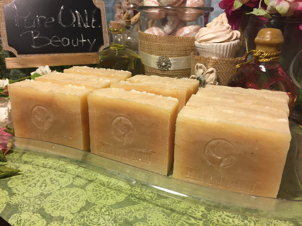 Hibiscus Ginger Lime<br>Organic Soap - Pure ONE Beauty