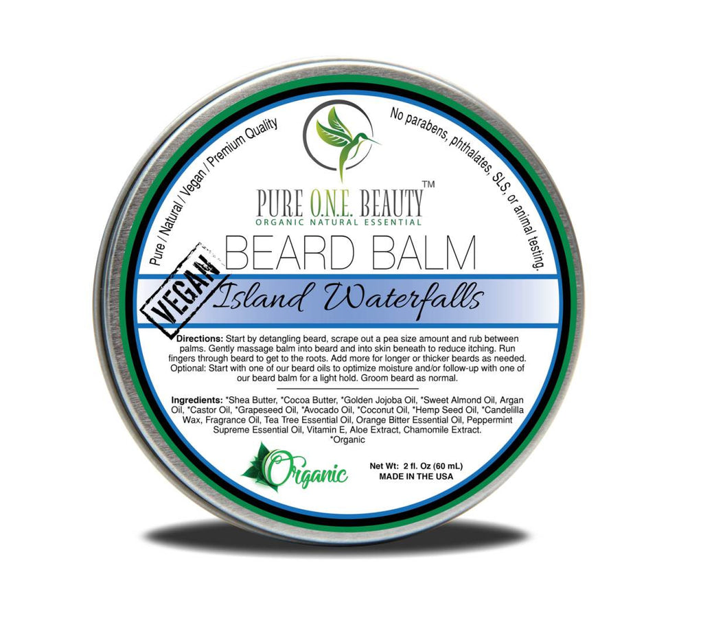 Island Waterfalls <br> Beard Balm - Pure ONE Beauty
