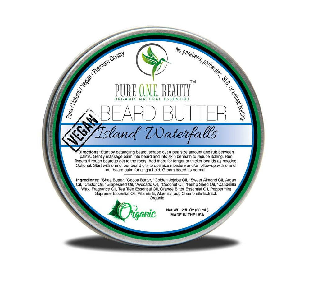 Island Waterfalls <br> Beard Butter - Pure ONE Beauty