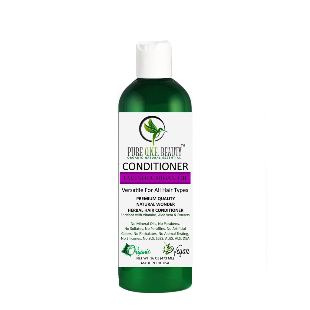 Lavender Argan <br> Biotin Conditioner - Pure ONE Beauty