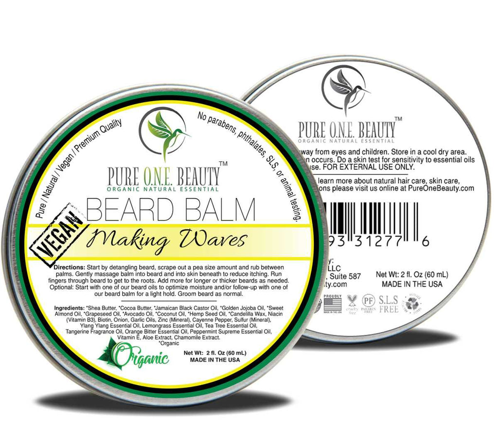 Making Waves <br> Beard Balm - Pure ONE Beauty