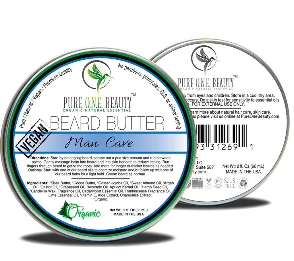 Man Cave <br> Beard Butter - Pure ONE Beauty