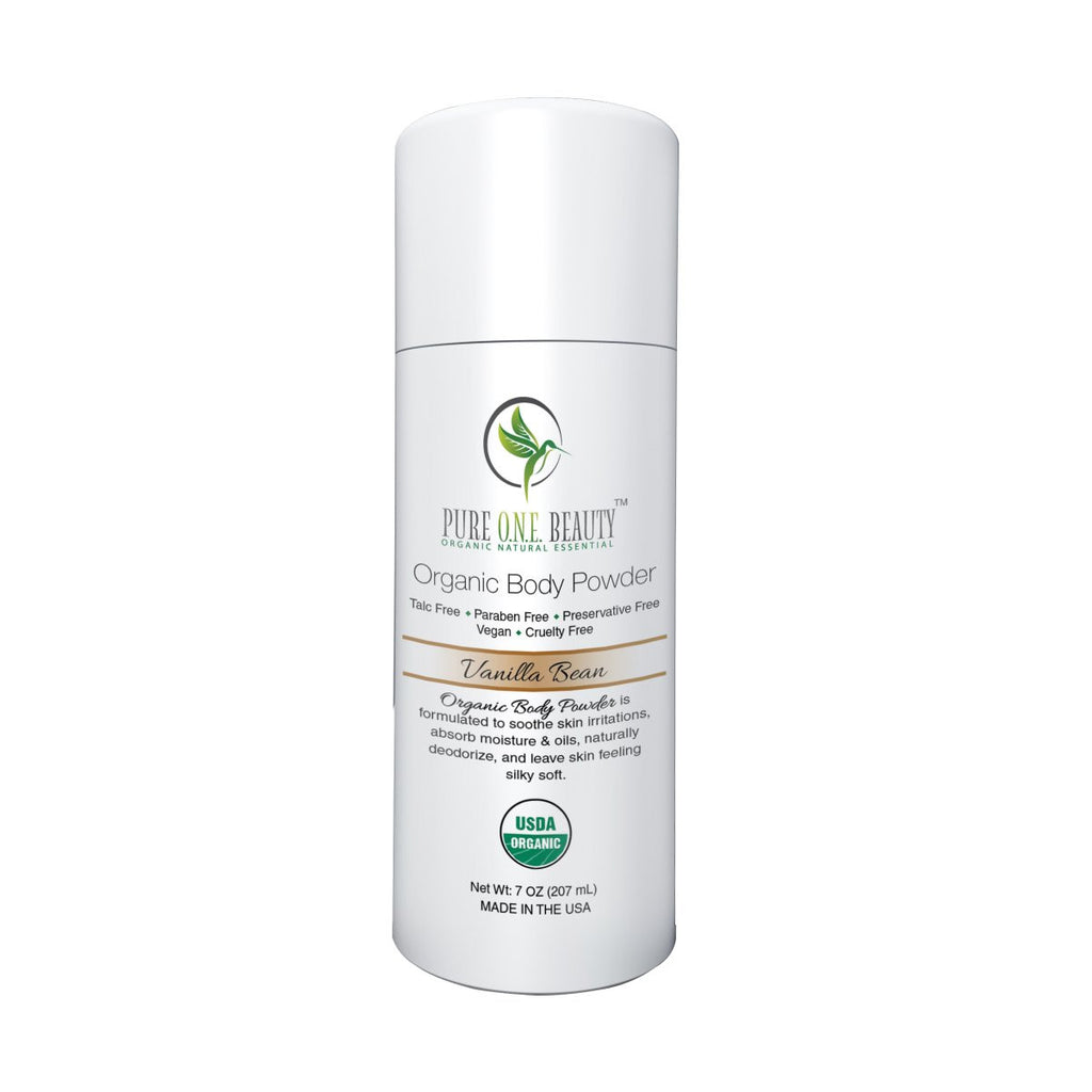 Vanilla Bean<br>Organic Body Powder - Pure ONE Beauty