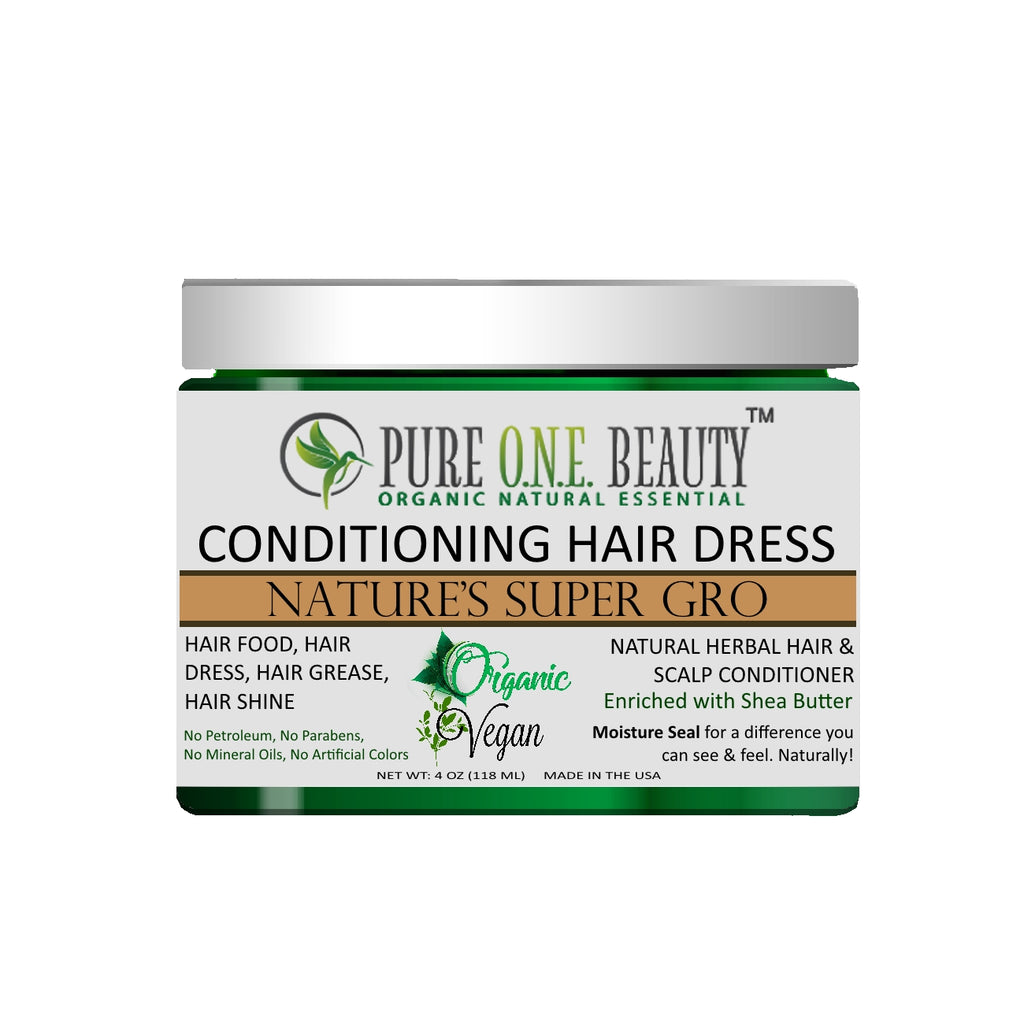 Nature's Super Gro<br>Hair Dress & Hair Grease - Pure ONE Beauty