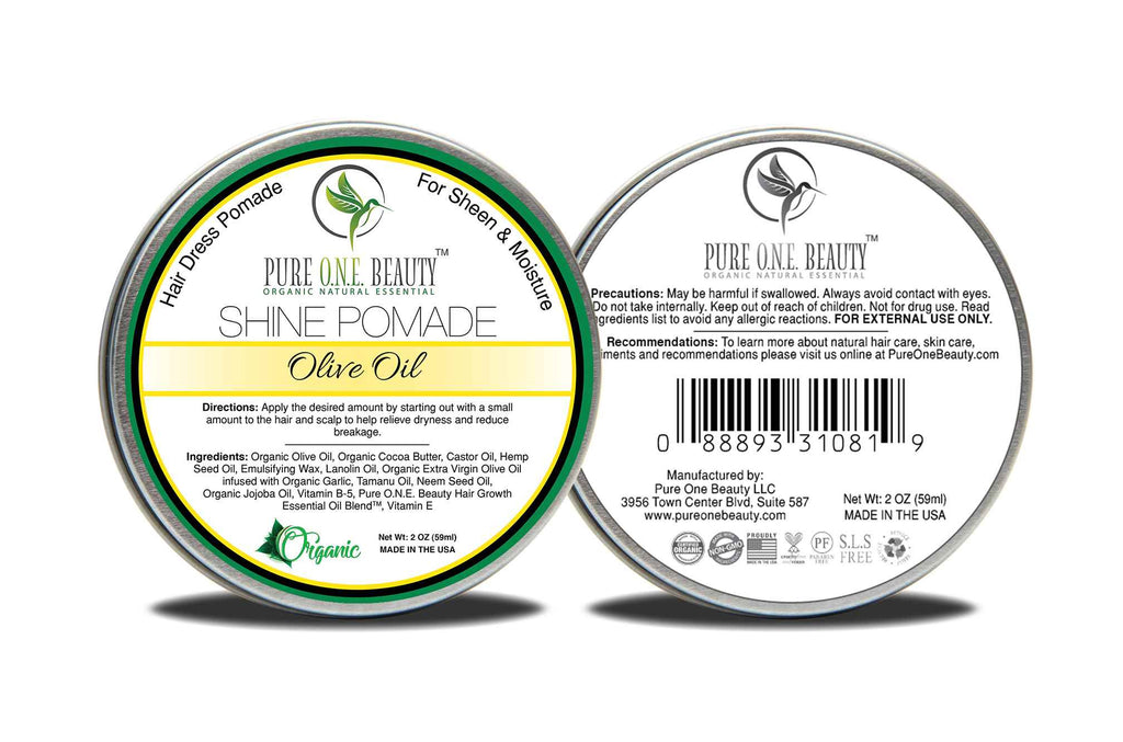 Olive Oil<br>Hair Oil Pomade - Pure ONE Beauty