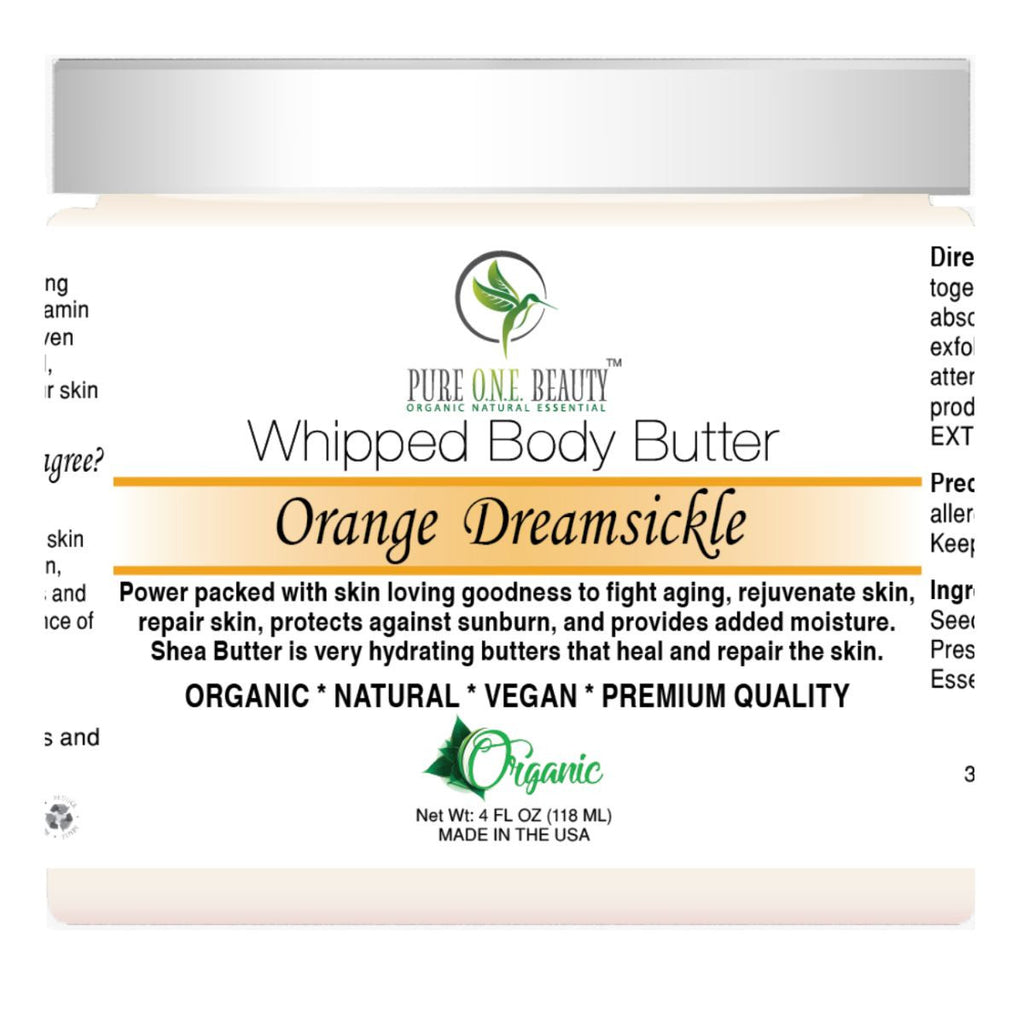 Orange Dreamsickle <br> Whipped Body Butter