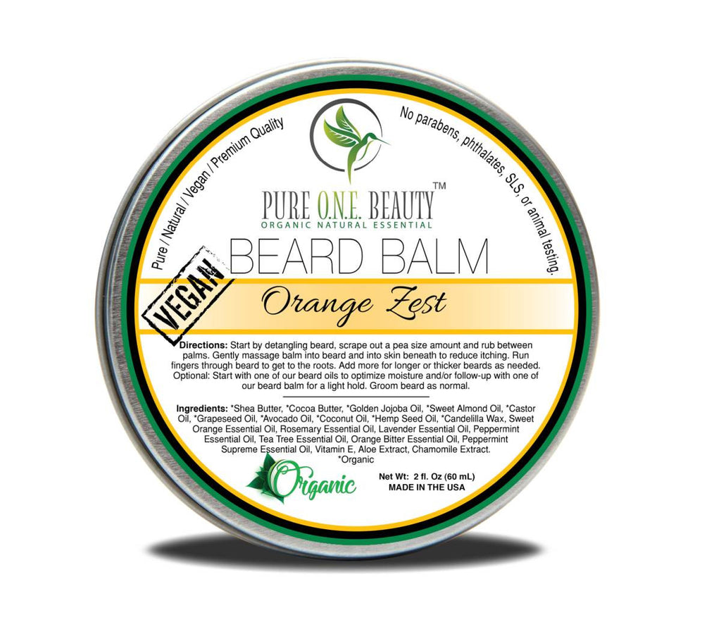 Orange Zest <br> Beard Balm - Pure ONE Beauty