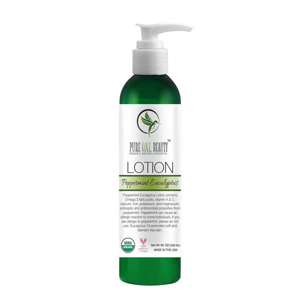 Peppermint Eucalyptus<br>Lotion - Pure ONE Beauty