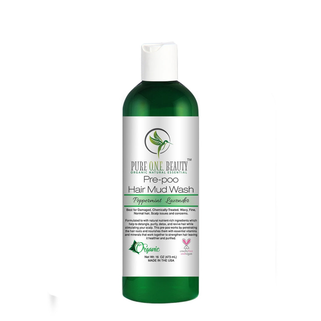 Peppermint Lavender<br>Pre-poo Hair Mud Wash