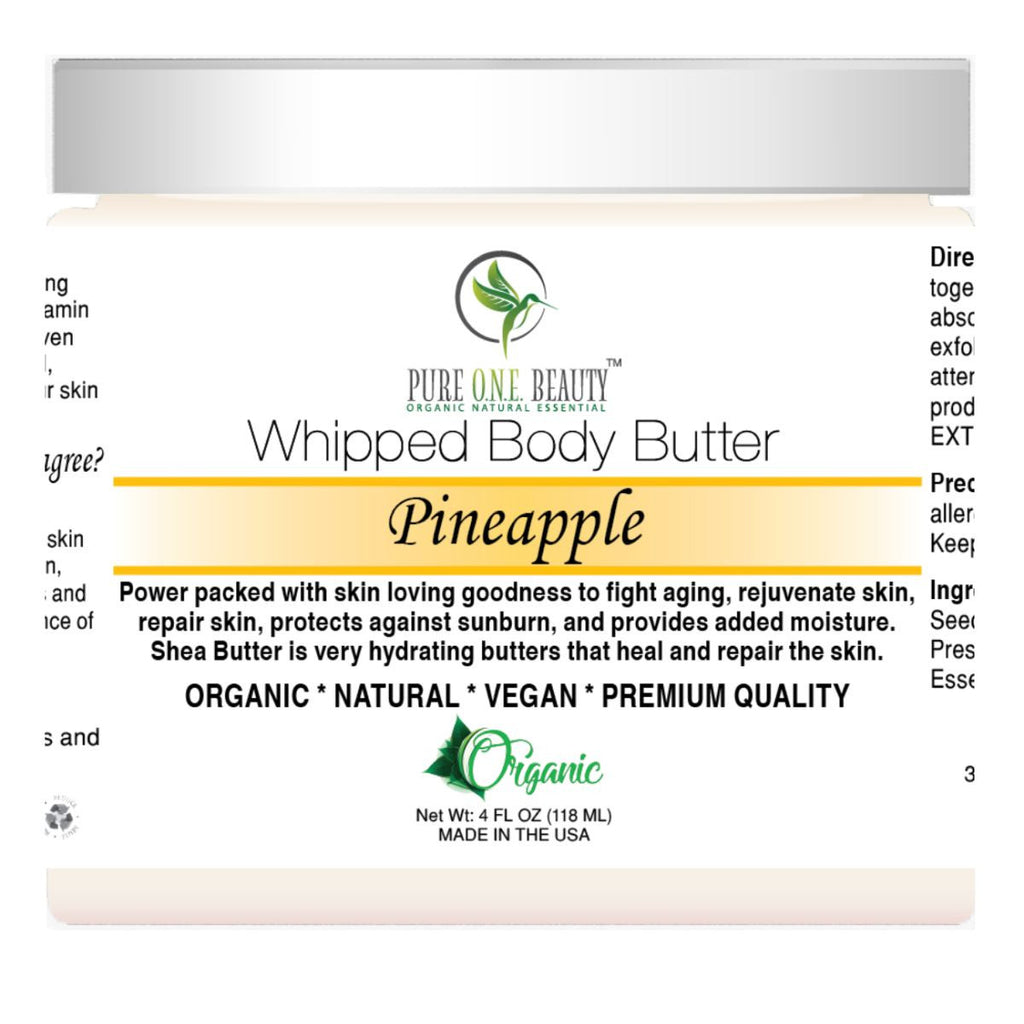 Pineapple <br> Whipped Body Butter - Pure ONE Beauty