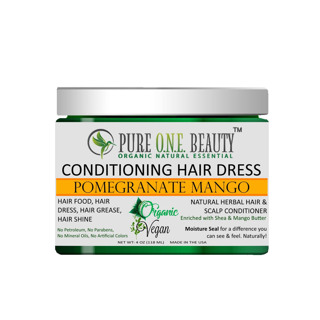 Pomegranate Mango<br>Hair Dress & Hair Grease - Pure ONE Beauty