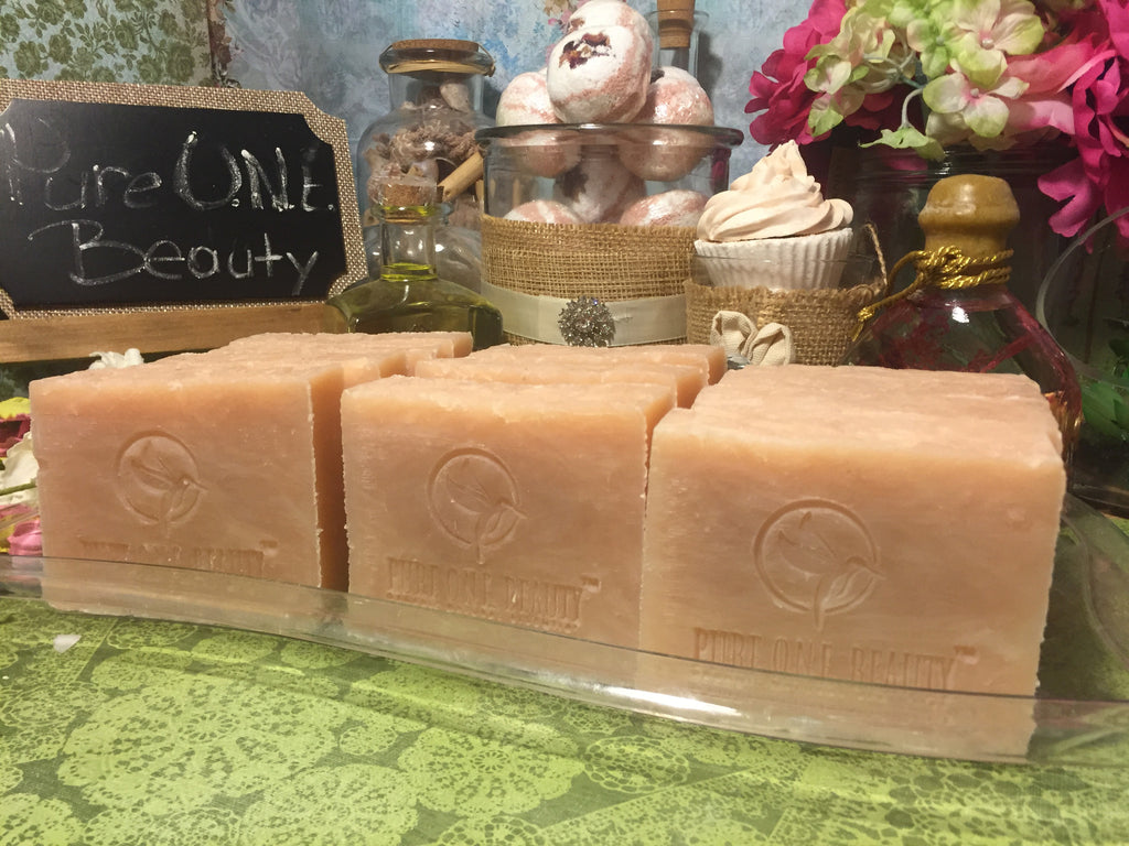 Rose Cedarwood Sage<br>Organic Soap - Pure ONE Beauty