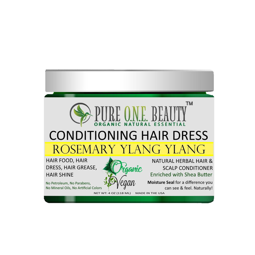 Rosemary Ylang Ylang<br>Hair Dress & Hair Grease - Pure ONE Beauty