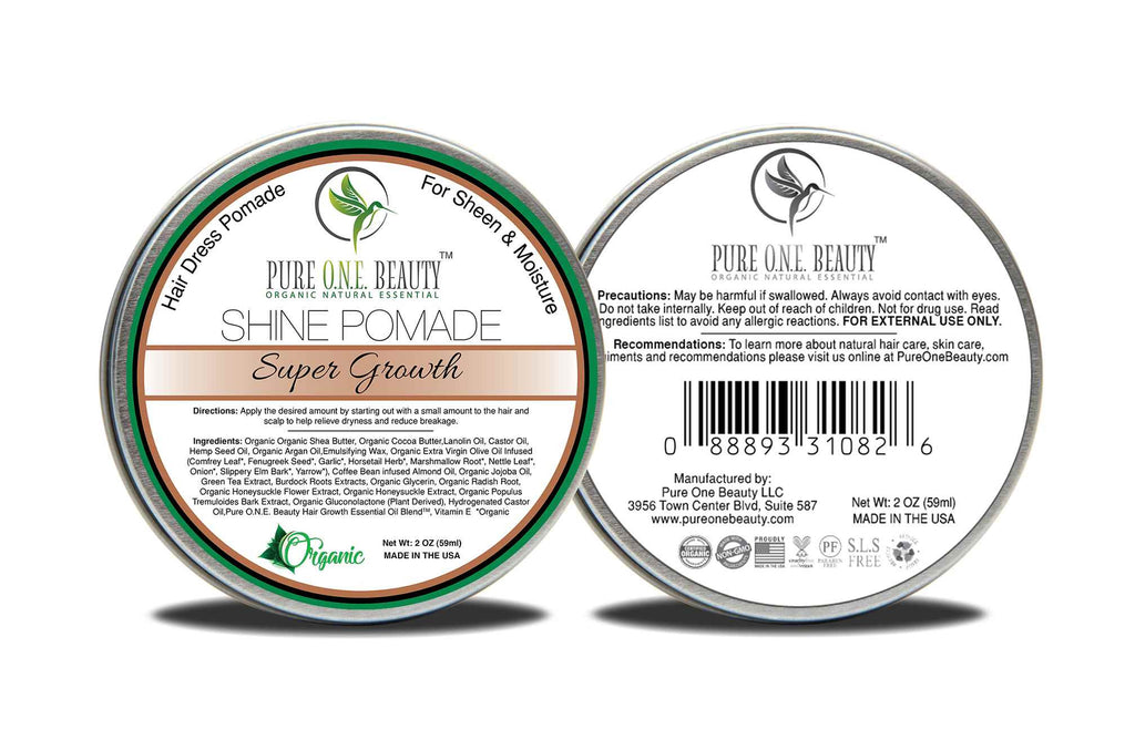 Super Growth<br>Hair Oil Pomade - Pure ONE Beauty