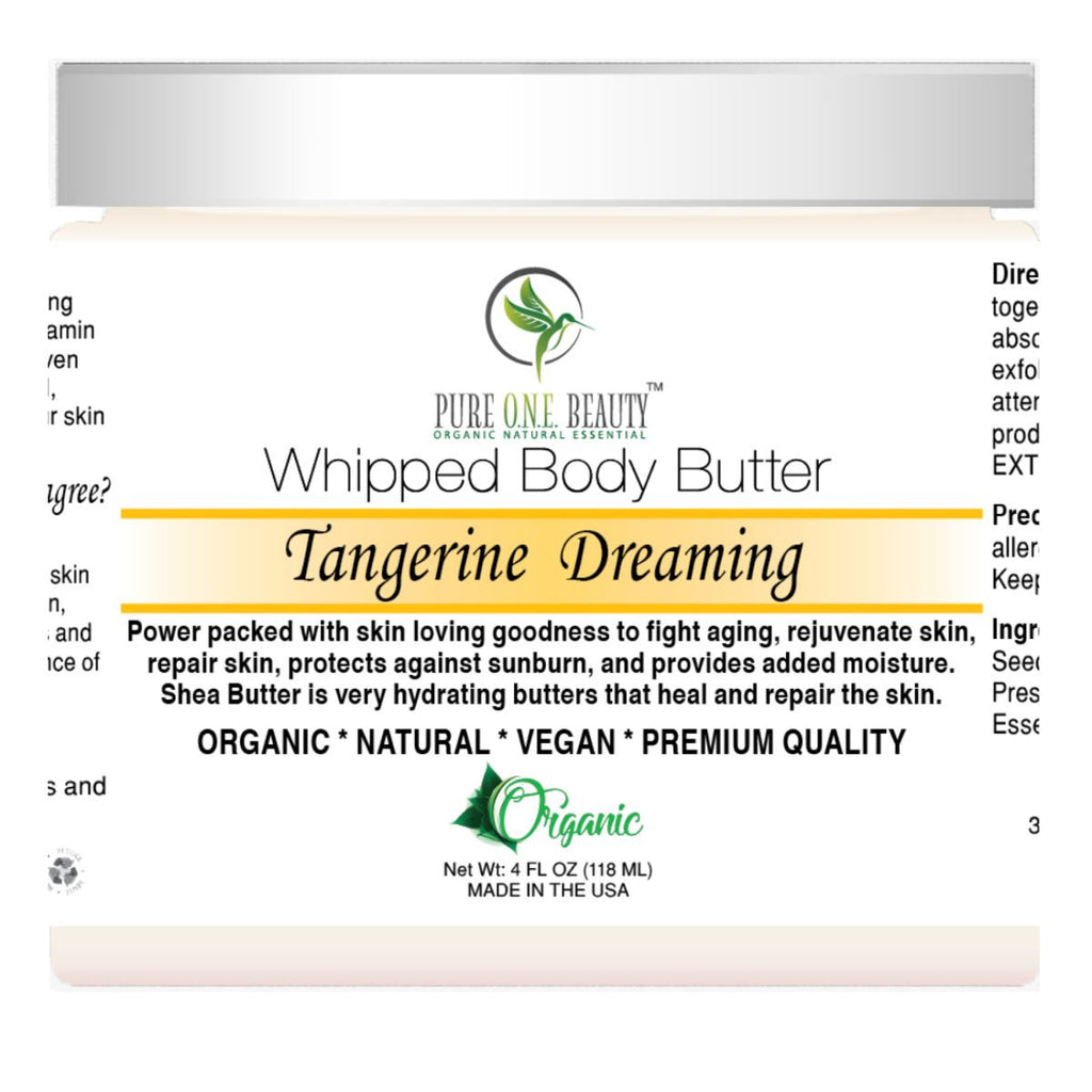 Tangerine Dreaming <br> Whipped Body Butter - Pure ONE Beauty