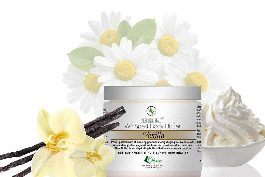 Vanilla <br> Whipped Body Butter - Pure ONE Beauty