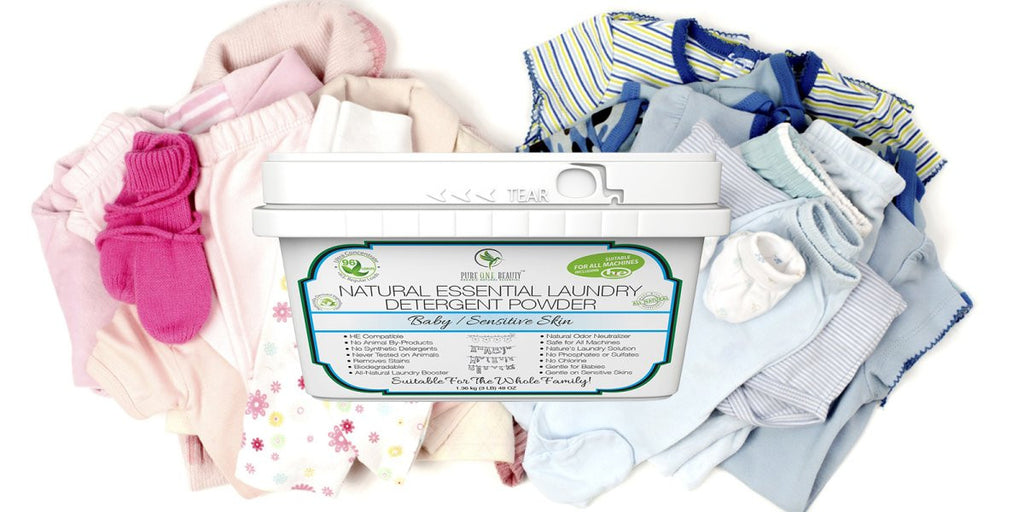 Baby / Sensitive Skin<br>Laundry Detergent Powder - Pure ONE Beauty