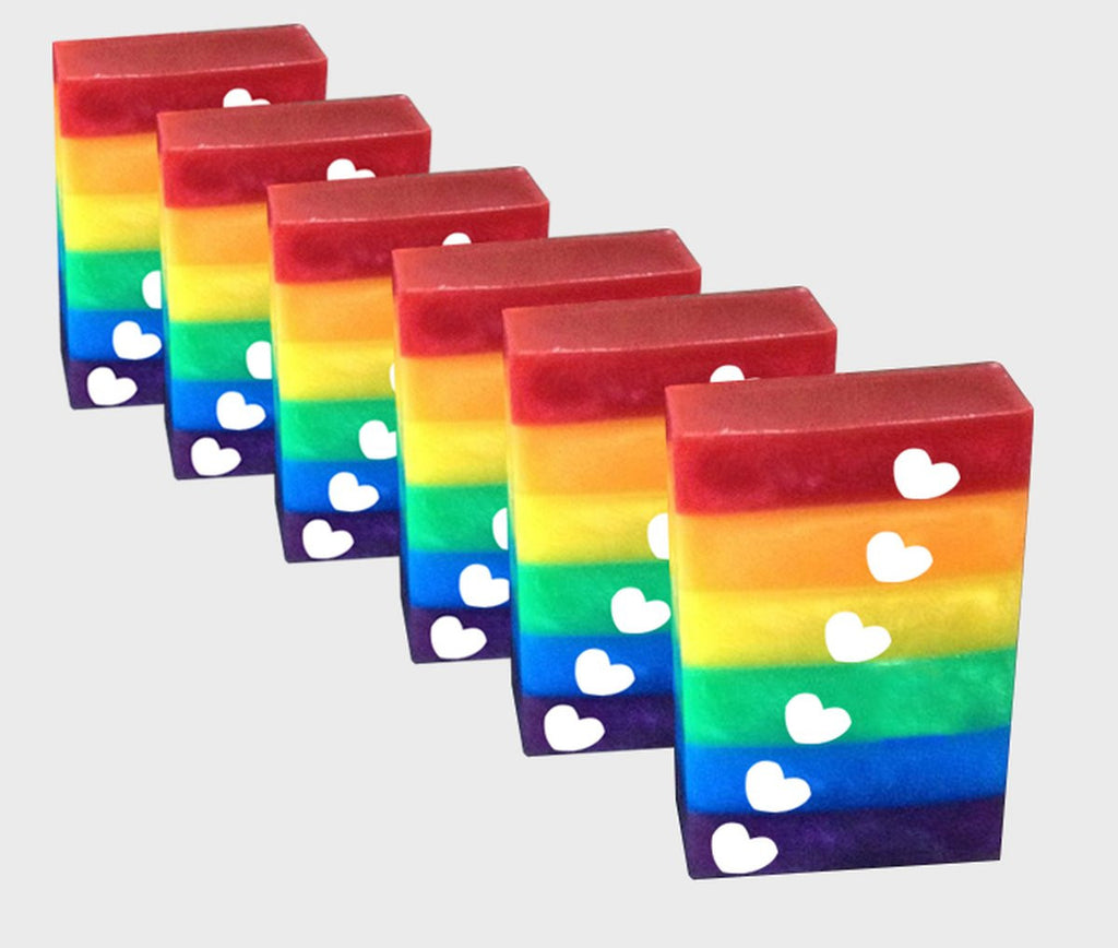 Rainbow Love Pure Heart<br>Soap - Pure ONE Beauty