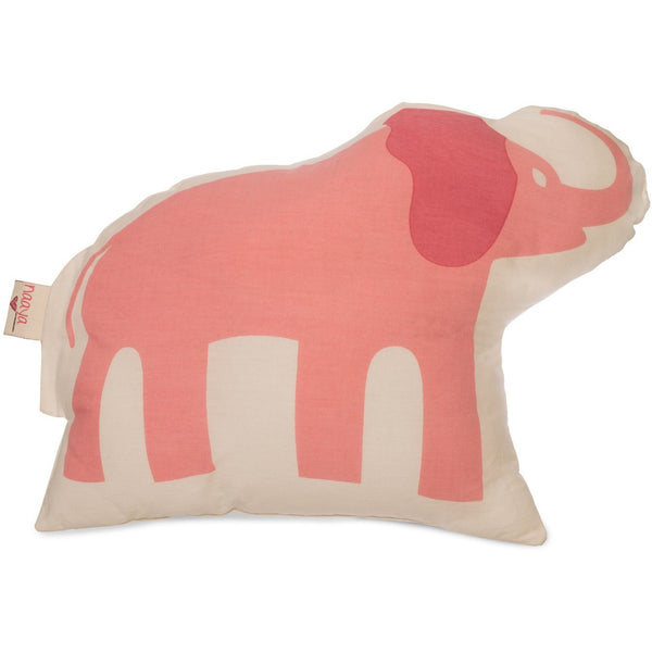 Pink Elephant Large Cushion - Naayabymoonlight