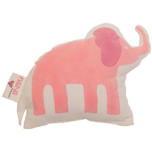 Pink Elephant Small Cushion - Naayabymoonlight