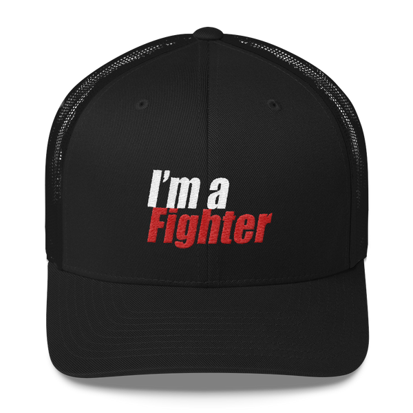 I'm a Fighter Snapback - Black