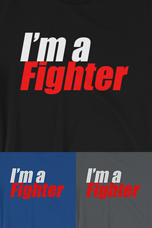 I'm a Fighter (Men's)
