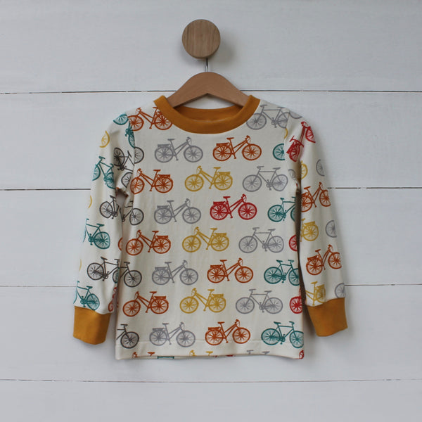 Organic Bicycle Tee - Long Sleeved