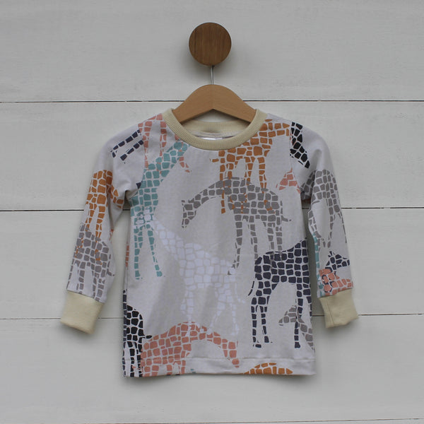 Giraffe Tee - Long Sleeved