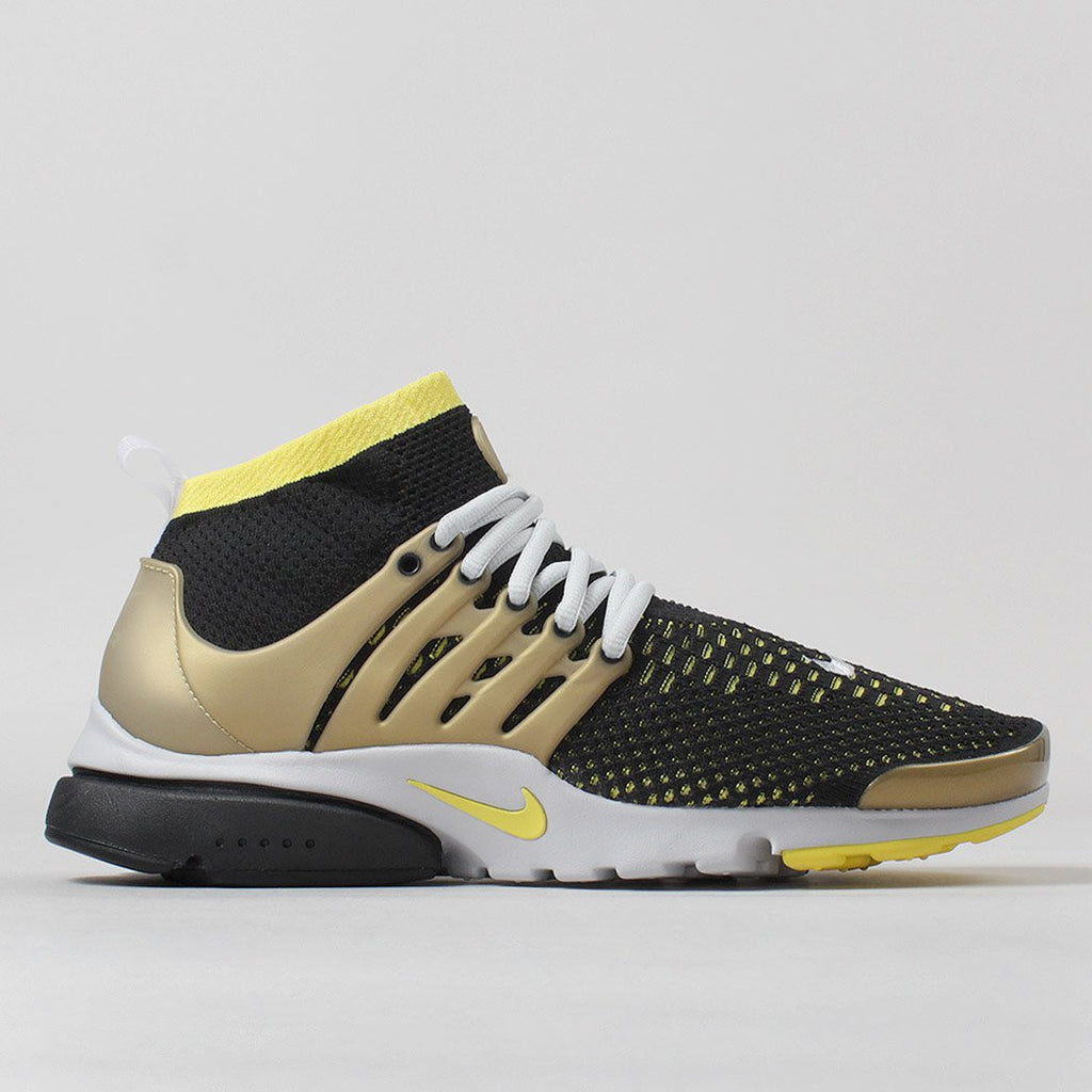 detailed pictures 122ee 32e25 Nike Air Presto Ultra Flyknit Shoes - Black Yellow