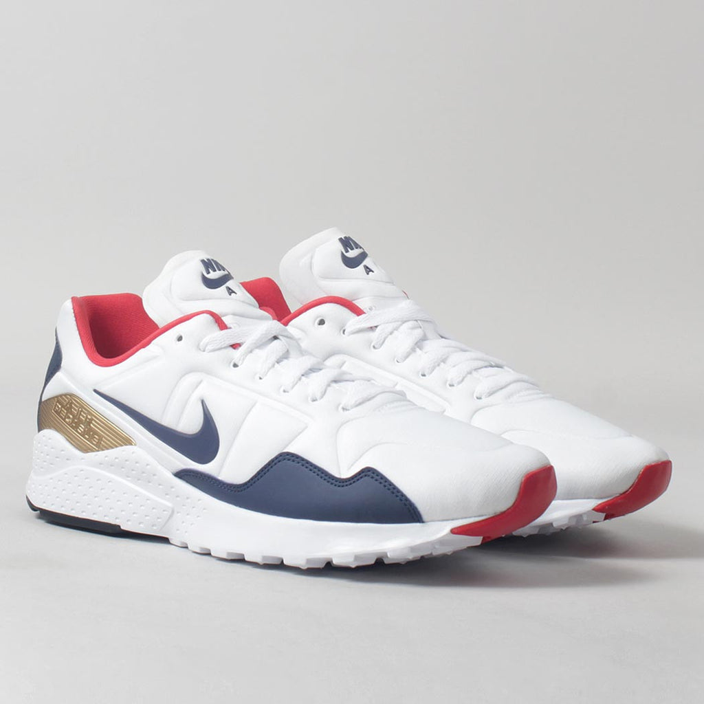 58f931fcf9 Nike Air Zoom Pegasus 92 Shoes - White/Midnight Navy Olympic Pack ...