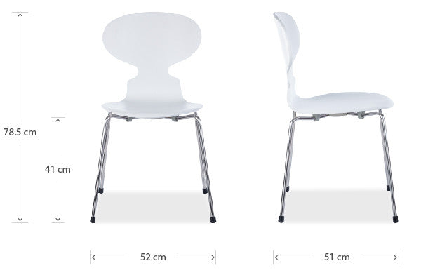 Ant chair dimensions