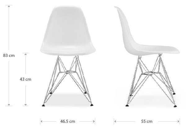 DSR chair dimensions