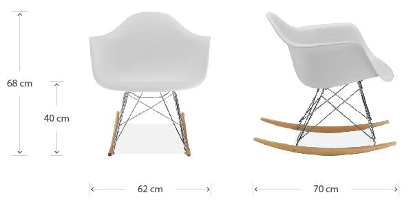 Rocking chair dimensions