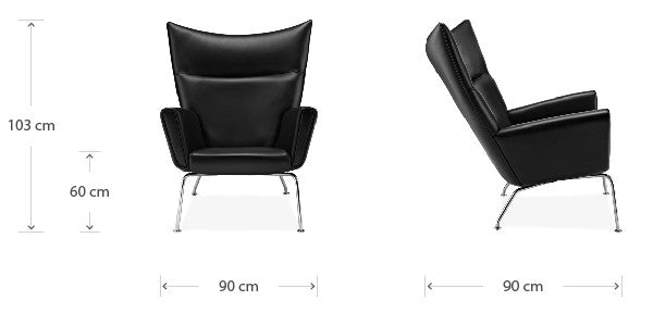Wing chair dimensions